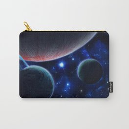 Three Planets Carry-All Pouch