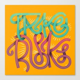 Take Risks Canvas Print