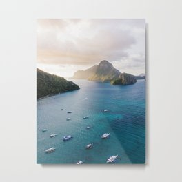 island life #society6 #decor #buyart Metal Print