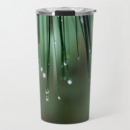 Pearls of Rain Travel Mug