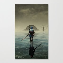 The hardest battle lies within (NEW Version) Canvas Print