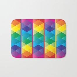 Rainbow Cube Bath Mat