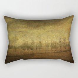 The upside world Rectangular Pillow