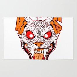 Demon Sphynx Cat2 Rug