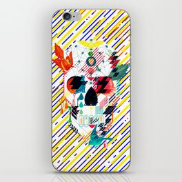 Abstract Skull iPhone Skin