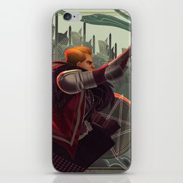 Knight of pentacles iPhone Skin