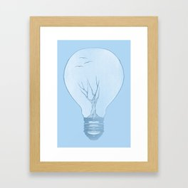 Ideas Grow Framed Art Print