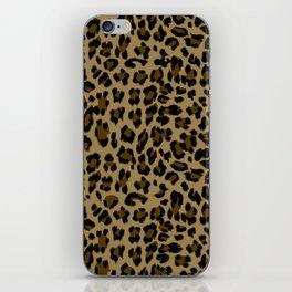 Leopard Print Pattern iPhone Skin
