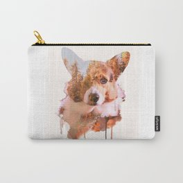 Corgi Forest Carry-All Pouch