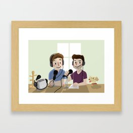 rhod gilbert radio show Framed Art Print
