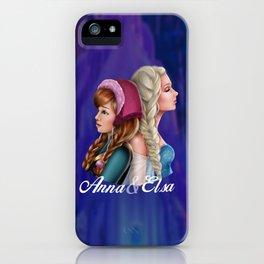 Frozen Sisters iPhone Case