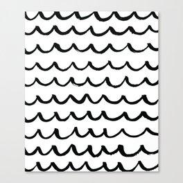 On the Same Wavelength Canvas Print