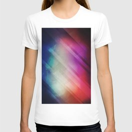 Vivid - Colorful Geometric Mountains Texture Pattern T-shirt