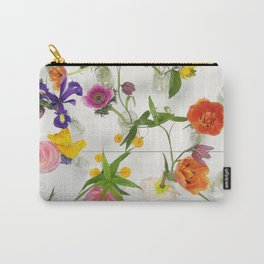 Spring Flowers - JUSTART (c) Carry-All Pouch