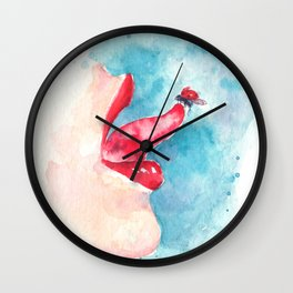A Dot for Every Dream Wall Clock