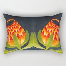 Floral symmetry 1. Rectangular Pillow