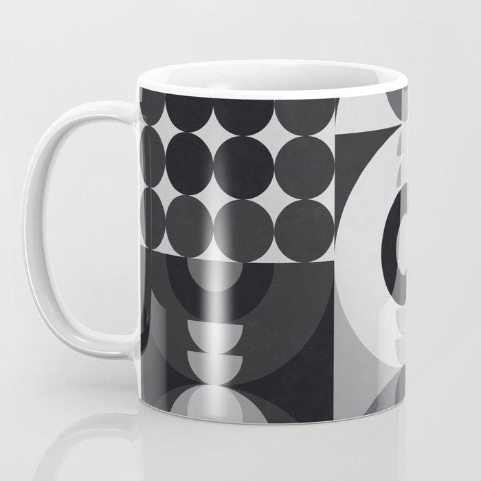Geometry Games V / Black Palette Coffee Mug