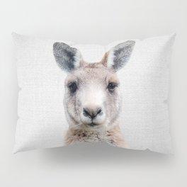 Kangaroo - Colorful Pillow Sham