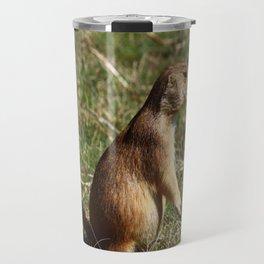 Black-tailed Prairie Dog Pose Travel Mug