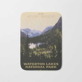 Waterton Lakes National Park Bath Mat