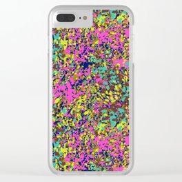 Laguna de los Lagartos Clear iPhone Case
