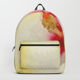 Unfolded By The Water Are The Faces Of The Flowers Backpack