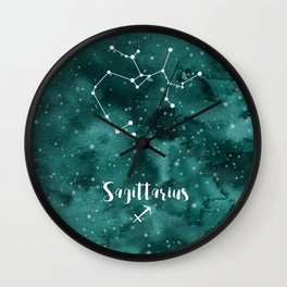 Sagittarius constellation Wall Clock