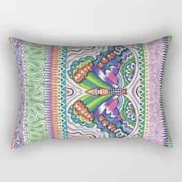 Tribal Butterfly Rectangular Pillow
