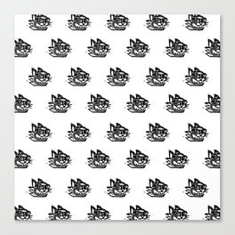 Tigercat Canvas Print