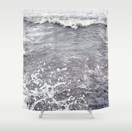 Water Flows Shower Curtain