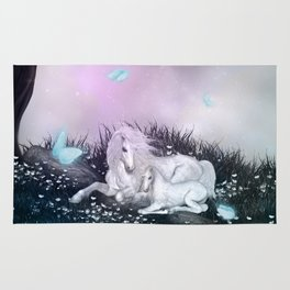 Wonderful unicorn Rug