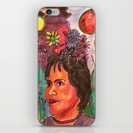 Looking Frida iPhone Skin
