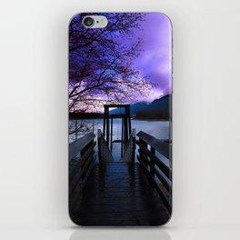 Fishing Dock iPhone Skin