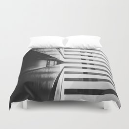 Folded Lines 2 Duvet Cover