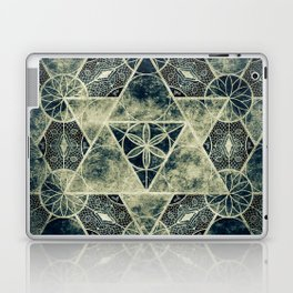 Sacred Geometry for your daily life -  Platonic Solids - IGNIS Laptop & iPad Skin
