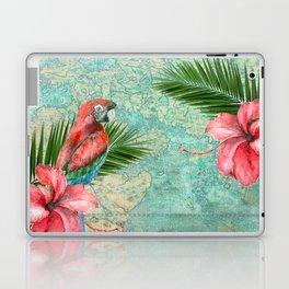Tropical Map Laptop & iPad Skin