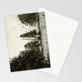 Cypress in the Rain Stationery Cards