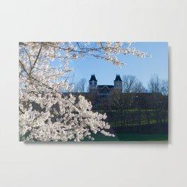 The Kennedy Art Museum in Spring Metal Print