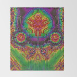 Dynamic Circuitry Throw Blanket