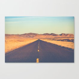Lost Highway II Canvas Print