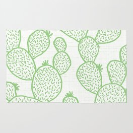 Cactus 26 green Rug
