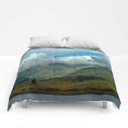 Cloudy afternoon in Connamara Comforters