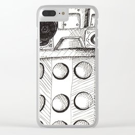 I am a Dalek Clear iPhone Case