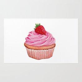 Strawberry Cupcake Rug