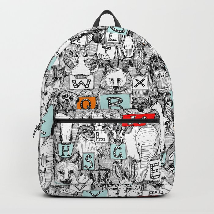 animal ABC Backpack