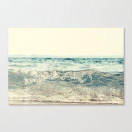 Vintage Waves Canvas Print