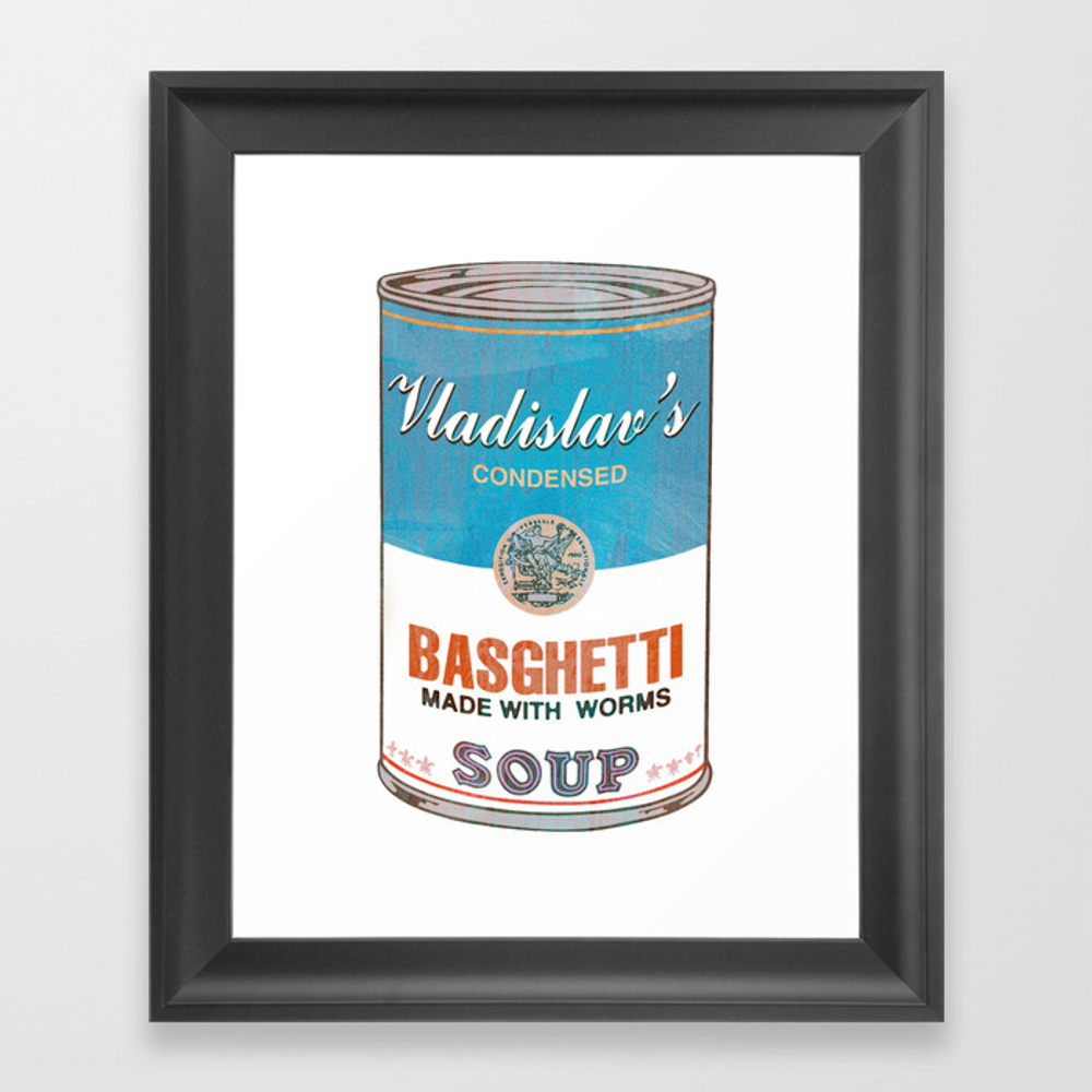 What We Do In The Shadows: Do You Like Basghetti? Framed Art Print by Madaramason FRM3406757