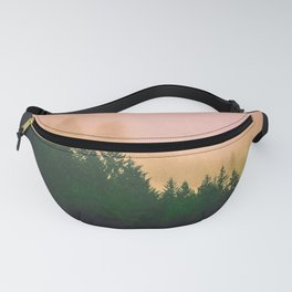 Cascadia Green Trees and Sunset Fanny Pack