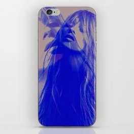 double Kate blues (kate moss) iPhone Skin