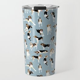 Tree Walker Coonhounds Pattern Travel Mug